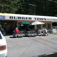 Photo taken at Burger Town by Jon C. on 8/16/2012