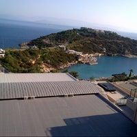 Photo taken at Hilton Bodrum Türkbükü Resort & Spa by yusuf e. on 9/9/2012