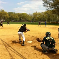 Photo taken at Heckscher Field by Bill S. on 4/15/2012