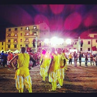 Photo taken at Piazza Mercatale by Visit Prato on 9/9/2012