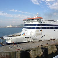 Photo taken at Port of Dover Ferry Terminal by James on 8/12/2012