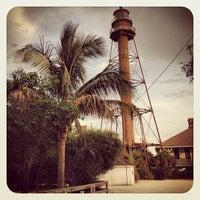 Photo taken at Sanibel Island Lighthouse by Ryan K. on 8/3/2012