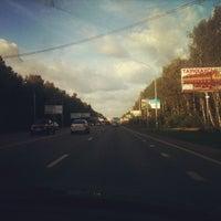 Das Foto wurde bei Ватутинский лес von Abik M. am 8/21/2012 aufgenommen