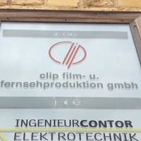 Photo taken at Clip Film Studio by Matthias R. on 6/23/2012