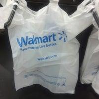 Photo taken at Walmart Supercenter by taleelah on 8/21/2012