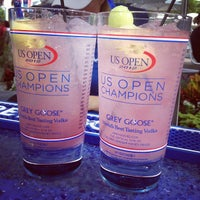 Photo taken at Grey Goose Bar - US Open by Krysta T. on 9/6/2012