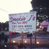 Photo taken at Smokin' J's Real Texas BBQ by ^_^ on 4/7/2012