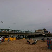 Photo taken at Bournemouth Pier by Sergio R. on 8/26/2012