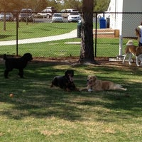 Photo taken at Destin Dog Park by Scottie K. on 2/16/2012