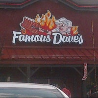 Photo taken at Famous Dave's by Tianna R. on 7/28/2012