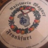 Photo taken at Apfelweinwirtschaft Adolf Wagner by Evgeny K. on 9/12/2012