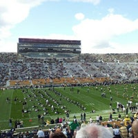 Photo taken at Notre Dame Stadium by Samantha M. on 9/8/2012
