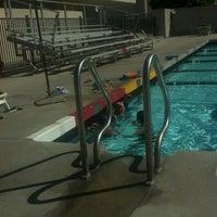 Photo taken at CSUSB Pool by Julie B. on 6/25/2012