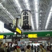 Photo taken at Odawara Station by kira on 4/15/2012