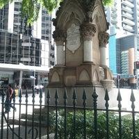 Photo taken at Mooney Memorial Fountain by Daniel W. on 9/10/2012