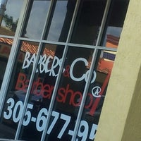 Photo taken at Barbers & Co Barber Shop @ 7 by TANIA L. on 9/8/2012