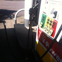 Photo taken at Shell by Brian S. on 8/26/2012