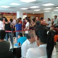 Photo taken at Santander by Oscar M. on 7/30/2012