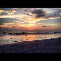 Photo taken at Treasure Island Beach by Jacklynn on 9/11/2012