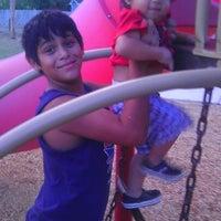 Photo taken at Bicentennial Park by Elvia E. on 8/22/2012