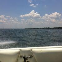 Photo taken at Lake Conroe by 👙Jennifer P. on 6/17/2012