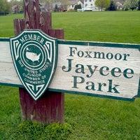 Photo taken at Foxmoor Jaycee Park by Chris J. on 3/31/2012