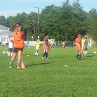 Photo taken at Beachwood Soccer Club Complex by Donna M. on 7/31/2012