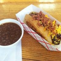 Photo taken at Boston Hot Dog Company by Josh S. on 8/25/2012