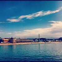 Photo taken at Santa Cruz Wharf by Robert H. on 8/19/2012