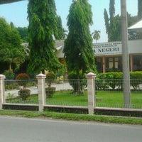 Photo taken at SMA Negeri 15 Medan by Muhammad N. on 7/16/2012