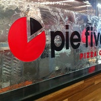 Photo taken at Pie Five Pizza Co. by Brian C. on 3/13/2012