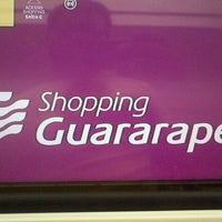 Photo taken at Shopping Guararapes by Daniel F. on 7/2/2012