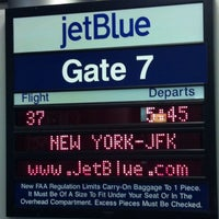 Photo taken at Gate 7 by Michael S. on 2/10/2012
