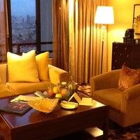Photo taken at The Portman Ritz-Carlton, Shanghai by Tate H. on 8/2/2012