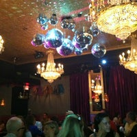 Photo taken at Lips Drag Queen Show Palace, Restaurant & Bar by Heather S. on 8/19/2012
