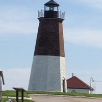 Photo taken at Point Judith Light House by Carla D. on 5/20/2012