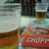 Photo taken at Quiosque Chopp Brahma by Vivina M. on 3/11/2012