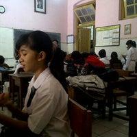 Photo taken at SMP Negeri 4 Surabaya by Gabby on 6/11/2012