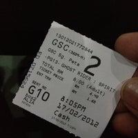 Photo taken at Golden Screen Cinemas (GSC) by azaharjaafar™ on 2/17/2012