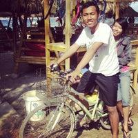 Photo taken at Gili Trawangan beach by Anton H. on 9/6/2012