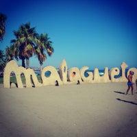 Foto tomada en Playa de La Malagueta por Zekeriya T. el 8/23/2012