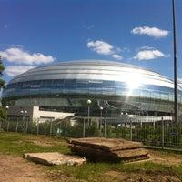 Das Foto wurde bei Дворец спорта «Динамо» von Nadya S. am 5/26/2012 aufgenommen