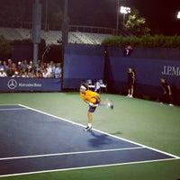 Photo taken at Court 7 - USTA Billie Jean King National Tennis Center by Stephanie H. on 8/29/2012