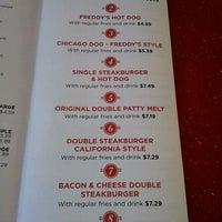 Photo taken at Freddy's Frozen Custard & Steakburgers by Cup C. on 8/11/2012