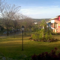 Photo taken at Pousada dos Pireneus Resort by Victor B. on 9/7/2012