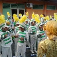 Photo taken at Gor Satria by Kurniawan S. on 4/28/2012