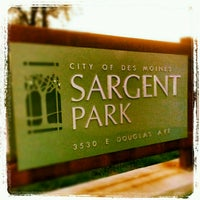 Photo taken at Sargent Park by Amanda L. on 8/20/2012