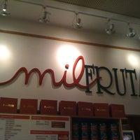 Photo taken at Mil Frutas by Daniella A. on 5/20/2012