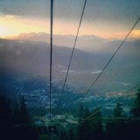 Photo taken at Whistler Village Gondola by Leah L. on 7/15/2012