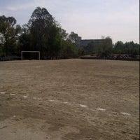 Photo taken at Cancha 4 - Liga UNAM by I P U on 6/2/2012
